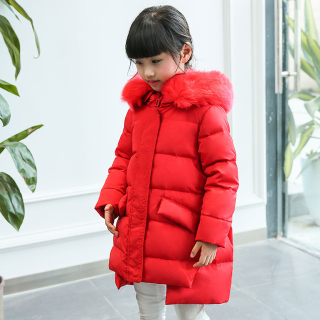 e2c8b8ef0 2017 New Baby Infant Coat Kids Warm Autumn Winter Outerwear Hooded ...