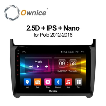 "Ownice C500+ 9"" Android 8.1 For VW Polo 2GB RAM Car DVD player GPS map WIFI 4G SIM LTE Bluetooth Radio OBD2 DVR Camera TPMS TV"