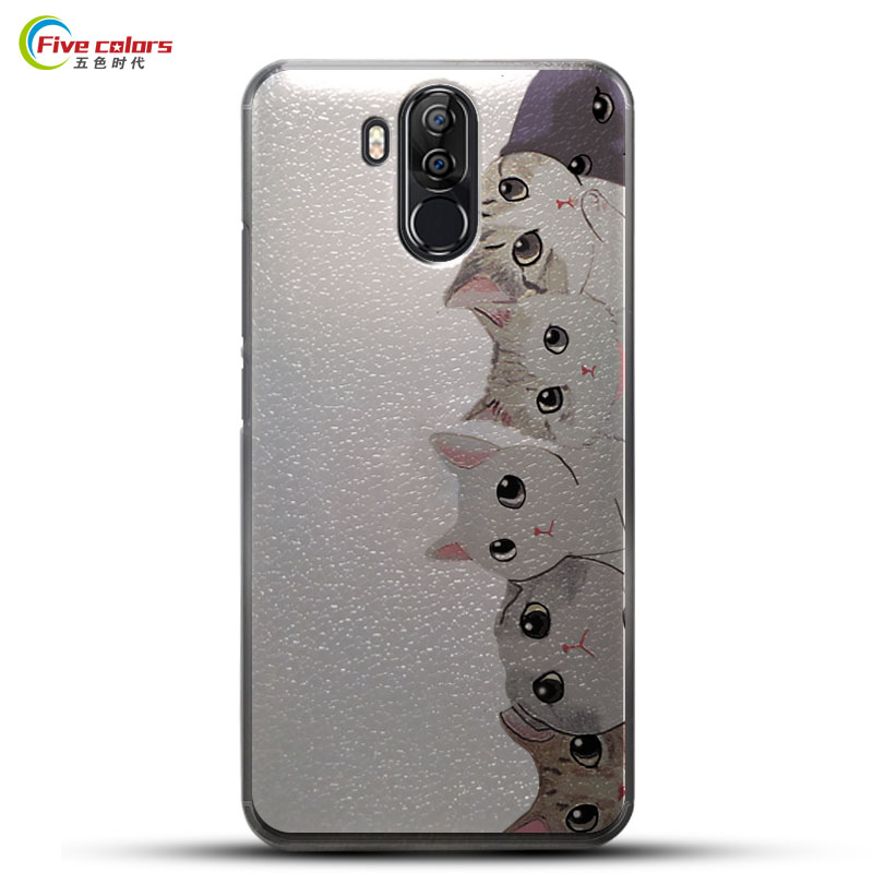 For Vernee X Hard Plastic Case 6.0'' PC Back Cover Protective Painted Pattern Case For Ver