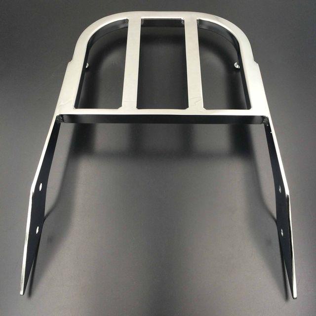 스즈키 Marauder VZ800 Boulevard C50 C90 M50 오토바이 용 Chrome Sissy Bar 수하물 선반