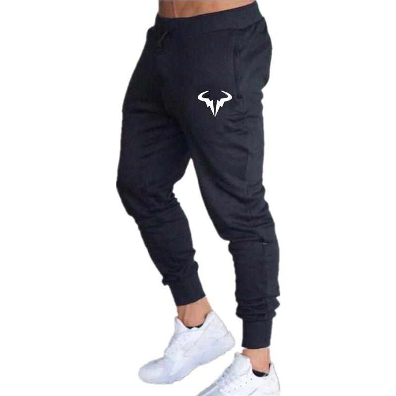 New Mens Joggers Casual Pants Fitness Men Sportswear Tracksuit Bottoms Skinny Sweatpants Trousers Gray Gyms Jogger Track Pants
