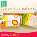 2017 Niños de La Muchacha Set Niños Bebés Ropa de Niña Bebé Conjunto Infantil Boy Juegos de Ropa Traje de Manga Larga de Impresión León Bebé Pijamas Equipo conjunto