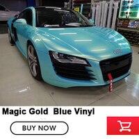 Золото magic blue пленки diamond клей глянцевая Пленки множественный выбор цвета Снежная синий