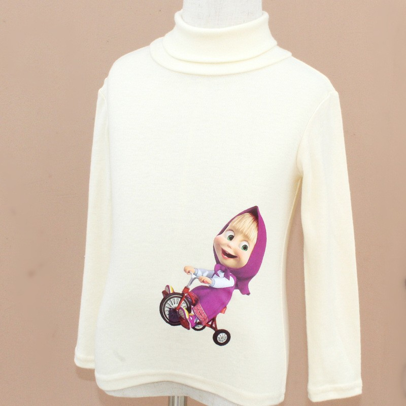 masha and bear girls sweaters