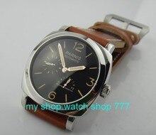 ПАРНИС 47 ММ супер люминесцентные Азии ST2530 автоматическая мужчины движения часы Высокого качества 2016 новая мода