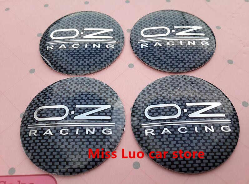 4 шт 56,5 мм черную клетку серебро O.Z OZ Авто автомобильная табличка с надписью колеса автомобиля центр ступицы колпачки пыленепроницаемый 3d стикер значок