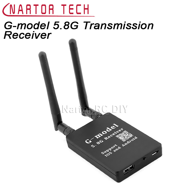 G-model FPV Portable 5.8G AV Signal Transfer WIFI Transmission Receiver for Android Smart phone IOS iPad Camera Drone Black детская игрушка new wifi ios