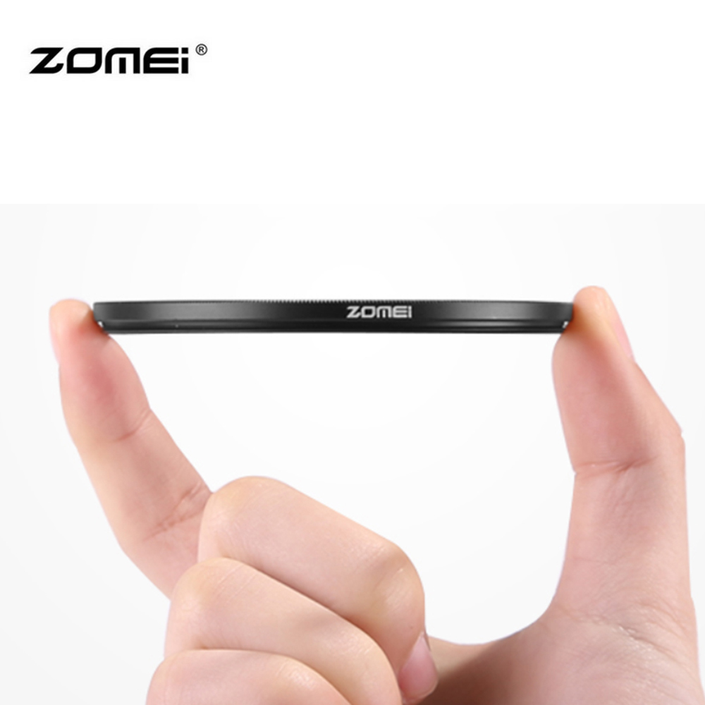 все цены на Zomei 40.5/49/52/55/58/62/67/72/77/82mm Standard Frame Camera Uv Filter Lens Protecting Filter For Canon For Nikon For Sony онлайн