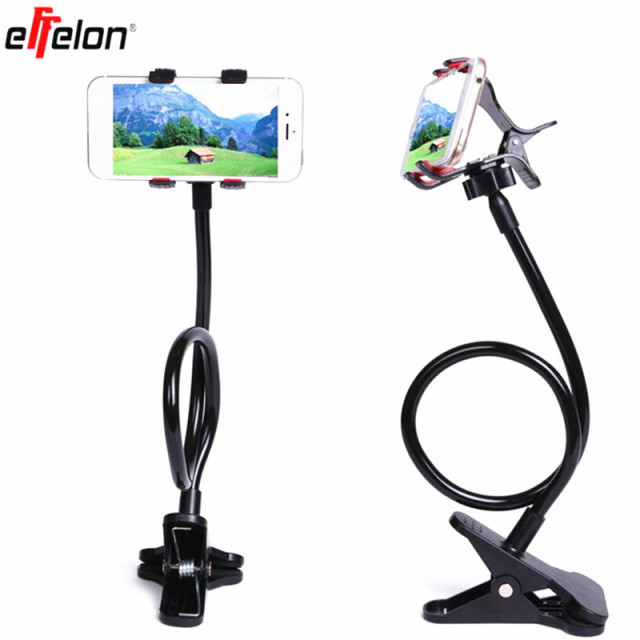 Effelon Lazy Shelf Bedside Mobile Phone Holder Clip For Smart Adjule Stand Desk Long