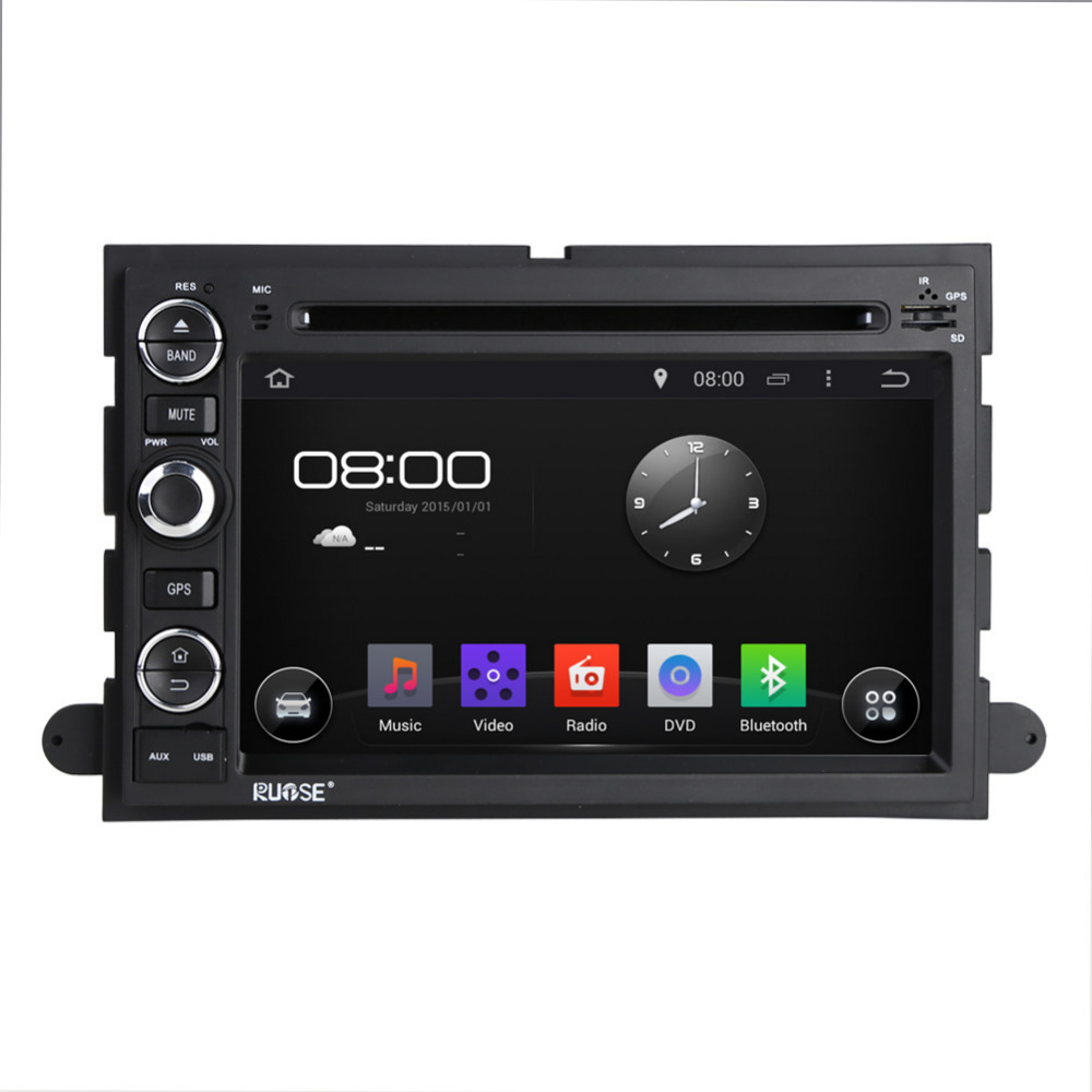 Android 5 1 quad core 7 gps navigation car dvd radio stereo for ford fusion edge for focus f150 f250 explorer escape 2004 2009