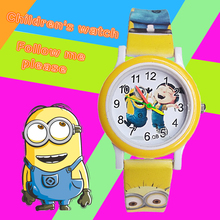 Little yellow men despicable Me big eyes Children Watch Fash