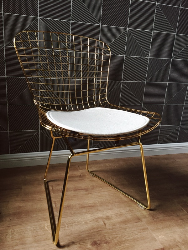 Chair Wrought iron Creative Hollow out chairs