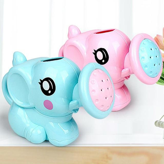 1PC Cute Baby Bath Elephant Toys Shower Kid's Water Tub Bathroom Playing Toy Gifts Hildren Bath Accessories 3