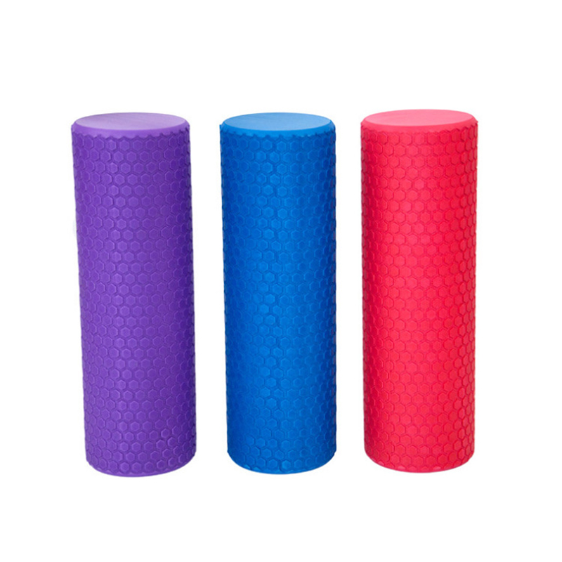 30*10CM High Density EVA Solid Yoga Foam Floating Point Roller Massage Blocks Fitness Back Pilates Bricks Home Gym Exercises 30cm 15cm electric vibration eva foam roller floating point fitness massage roller 3 speed adjustable for physical therapy