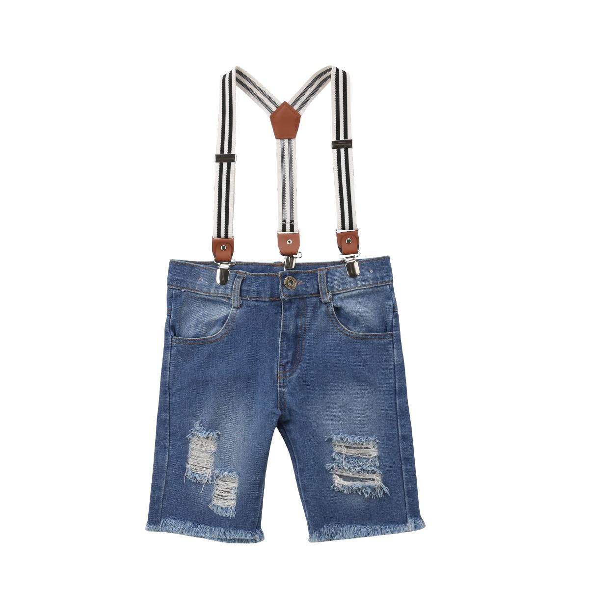 Diimuu 2018 Jungen Jeans Hosen Lange Hosen Solide Kleinkind Kinder Baby Jungen Kleidung Overalls Elastische Taille Kleidung Infant Kinder Jungen Kleidung