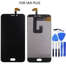 Suitable for UMI plus LCD LCD touch screen mobile phone assembly for UMI plus screen LCD replacement repair parts free tool free shipping original lcd touch screen assembly for philips v787 ctv787 cellphone xenium mobile phone