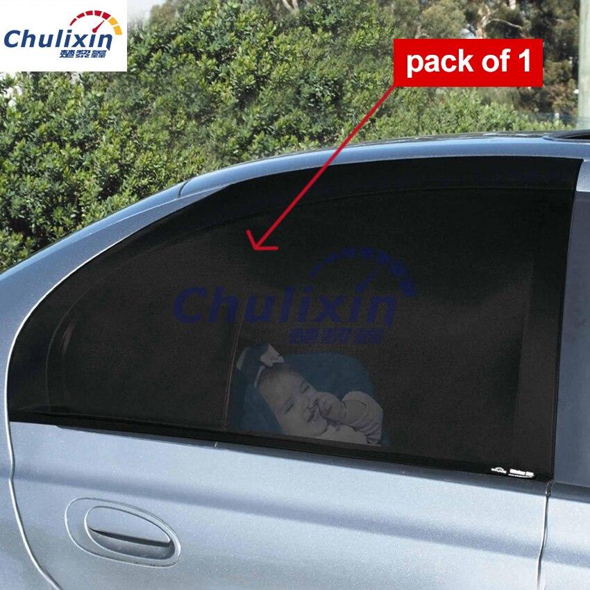 Заднего окна УФ сетки солнце оттенки слепые блокатор Черный солнечной защиты зонтики для детей автомобиль-Стайлинг автомобиля аксессуары ...