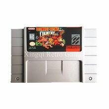 Super Nintendo SFC/SNES Игры Donkey Kong Country КОНКУРЕНЦИИ Видеоигры Картридж Консоли Карты Английский Язык