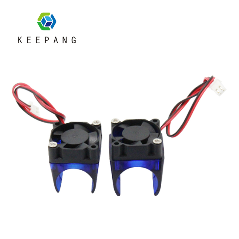 KeePang V6 V5 Bracket Moulded Plastic Blue Fan Duct Bracket Support For Cooling Fan 30x30x10mm 3D Printer Extruder E3d V6 V5