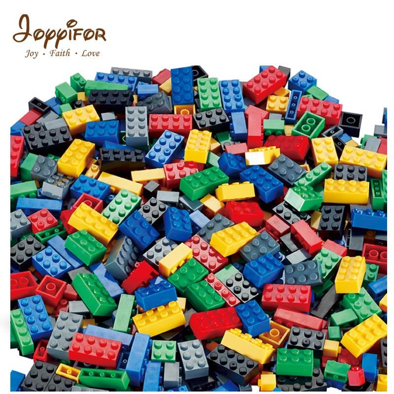 Joyyifor 1000pcs Bricks Designer Creative Classic Brick DIY Building Blocks Educational Toys Bulk Children Gift Compatible Legoe 460pcs enlighten bulk diy creative building blocks bricks educational toys children gift christmas compatible with legoings