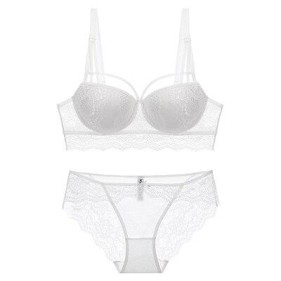 New push up bra set conjunto linge