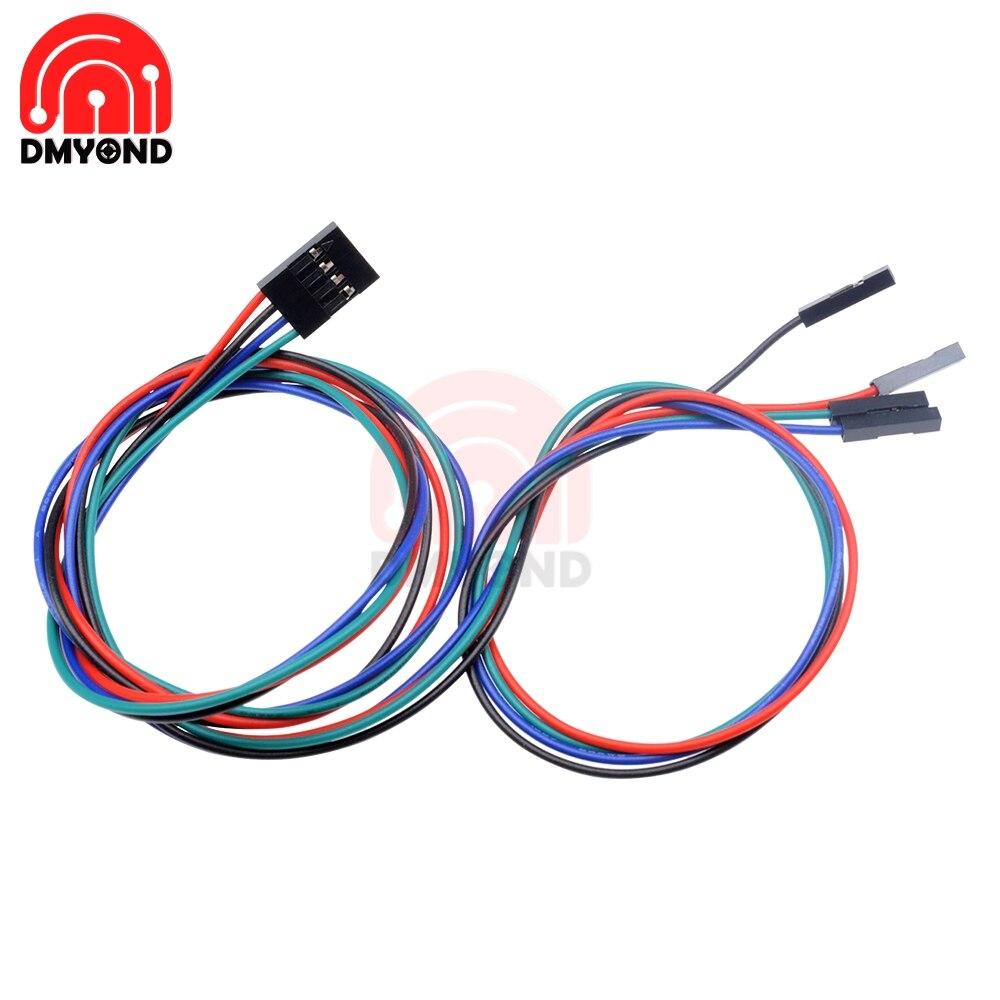 5PCS 70cm 2Pin Cable Set Female-Female Jumper Wire for Arduino 3D Printer Reprap
