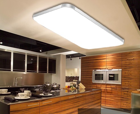 moderna llev las luces de techo cuadrados para livieng habitacin luminarias para sala dormitorio lmparas