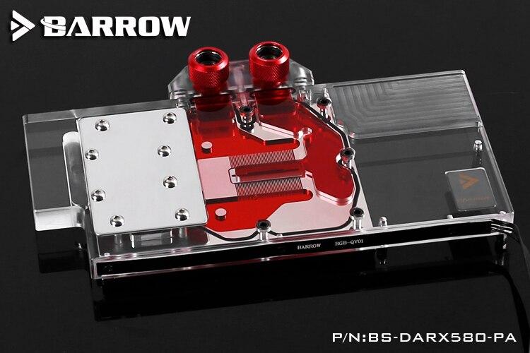 Курган BS DARX580 PA водяного охлаждения блока для Powercolor дьявол RX580