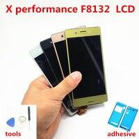 5.0 인치 디스플레이 소니 Xperia X F5121 F5122 LCD X 성능 F8131 터치 스크린 디지타이저 교체 어셈블리 부품
