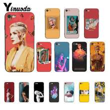 Yinuoda Halsey Hopeless Fountain Kingdom Customer Phone Case Cover for iPhone 8 7 6 6S 6Plus X XS MAX 5 5S SE XR 10 11 pro max(China)