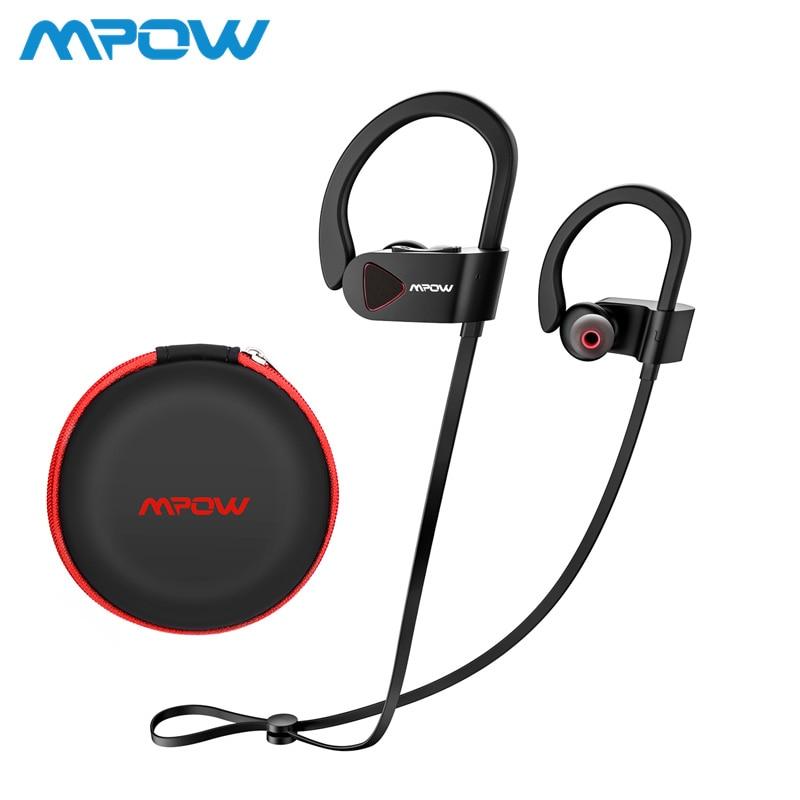 Mpow D8 casque audio sans fil IPX7 la Structure Imperméable À L'eau Bluetooth casque de sport 9 H Temps de Jeu Pour Courir Gym iPhone Huawei Xiaomi