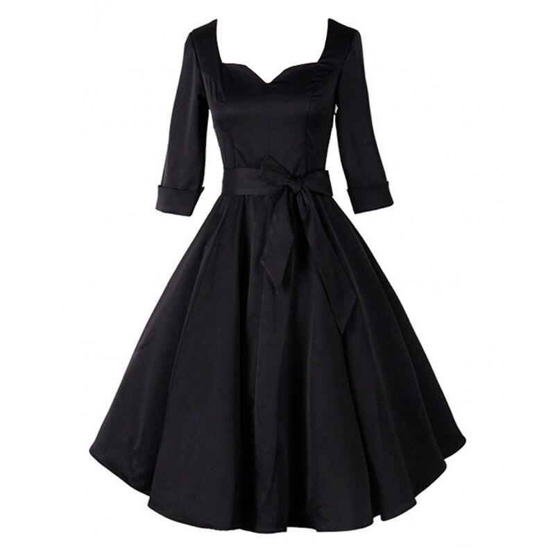 Vintage 40 S Style Wedding Dresses: Autumn Winter Audrey' Hepburn Style 40s 50s 60s 80s