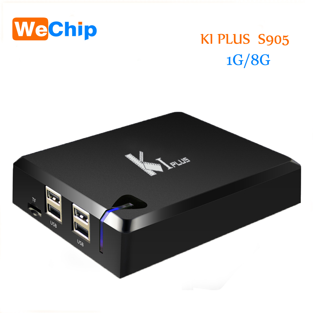 NEW K1 Plus S2 T2 Android 5.1 TV Box Amlogic S905 Set TV Box  4K HD 1G/8G Quad Core STB Wifi Media Player Free Shipping