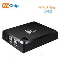 YENI K1 Artı S2 T2 Android 5.1 TV Kutusu Amlogic S905 Set TV Kutusu 4 K HD 1G/8G Quad Core STB Wifi Media Player Ücretsiz nakliye