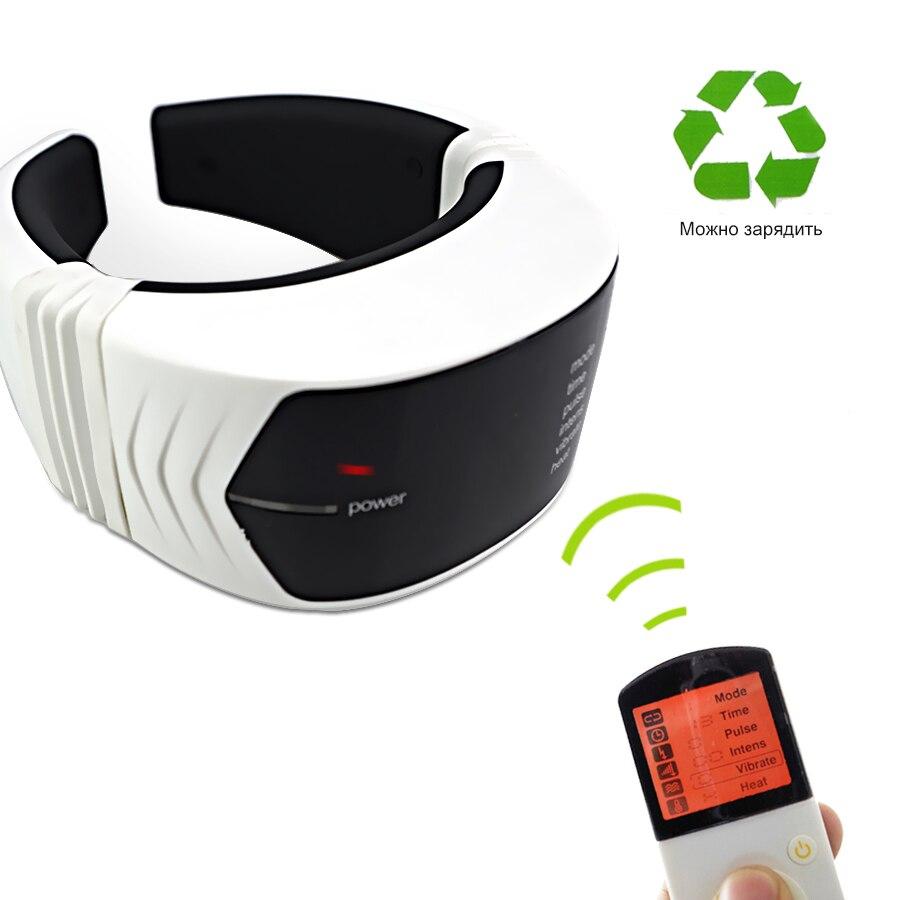 Güzellik ve Sağlık'ten Rahatlatıcı Uygulamalar'de Elektrikli darbe boyun masaj manyetik terapi vücut masajı rölyef ağrı servikal vertebra bakım Gevşeme Tedavisi USB şarj'da  Grup 2