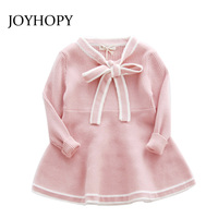 New Spring Girl Dress Christmas Wedding Party Dresses Knitted Autumn Kids Girls Clothes Children CLothing Girl
