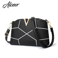 ALCEVR women messenger bags 2017 luxury handbags women bags designer Women Leather Shoulder Bags High Quality Vuiton Bags bolsos