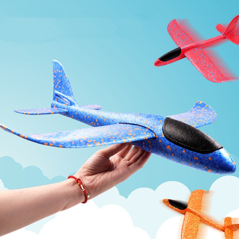 2017 12pcs Diy Hand Throw Flying Glider Planes Foam: Fancy Design Hand Throwing Airplane EPP Foam Plane Hand