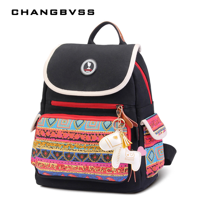 Cute Horse Present For Maternity Mother Backpack Bag Large Capacity Baby Ny Diaper Bags Stroller