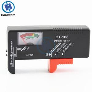 Image 2 - BT168 Tragbare Universal Digital Batterie Tester Volt Checker Für AA AAA 9 V Taste Mehrere Größe Batterie Tester Checker