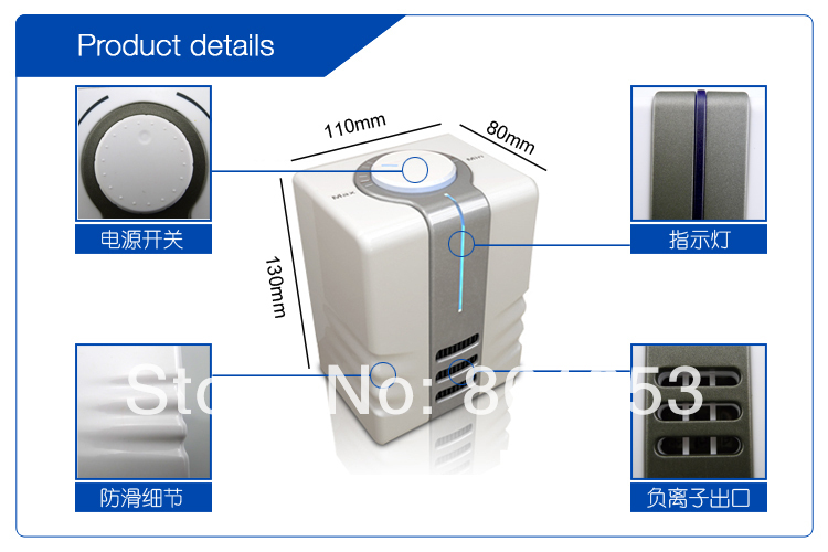 Bon M Fresh Air Purifies Ionizer Home Ionic Air Purifier For Bathroom And Samll  Space In Air Purifiers From Home Appliances On Aliexpress.com | Alibaba  Group