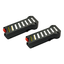 WHYY-JJRC 2PCS/Lot 3.7V 850mAh lipo Battery for JJRC H61 / H62 RC Quadcopter Drone Spare Parts