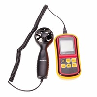 GM8901 High Accuracy Digital Anemometer Wind Meter Air Velocity Temperature Meter 0 45m/s With LCD Backlight