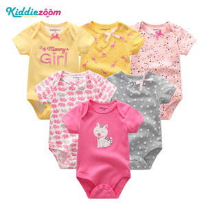 Image 5 - Newborn Baby Rompers Boys/Girls Playsuits Clothes 100%Cotton Striped Cute Jumpsuit  Infant Girl Body Romper Clothing for 0 1Year