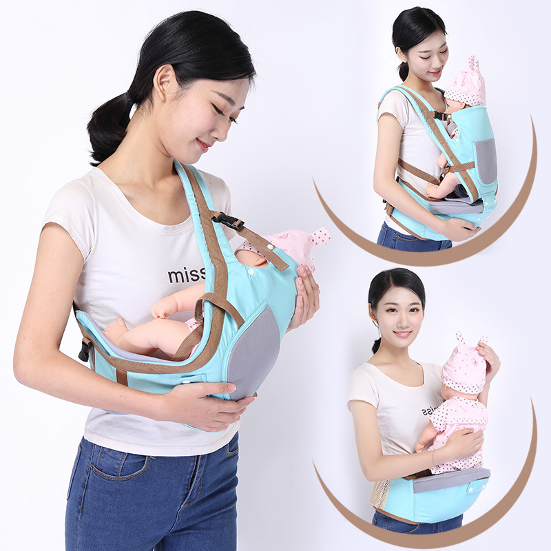 New Hipseat For Newborn and Prevent o-Type Legs 6 in 1 Carry Style Loading Bear 20Kg Ergonomic Baby Carriers Kid Sling Dropship new infant backpack hip seat newborn prevent o type legs 4 in 1 carry style loading bear 20kg ergonomic baby carriers kid sling