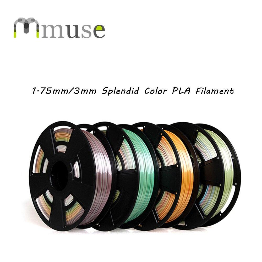 0.7kg/Roll Splendid Colors PLA Filament 1.75mm 3mm 3D Printing Filament with Full Color 2012 full color 180 pages printing catalog of chef essentials