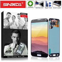 5.1Super AMOLED For SAMSUNG Galaxy S5 i9600 G900F G900H G900M G9001 G900R Display Touch Screen Mobile Phone LCD Big Burn Shadow