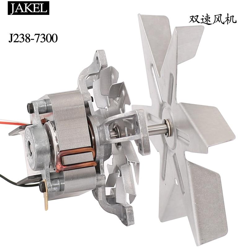 J238 7300 fan KAKEL hoge en lage snelheid tweede versnelling drie lijn drogen oven oven 220 V motor - 3