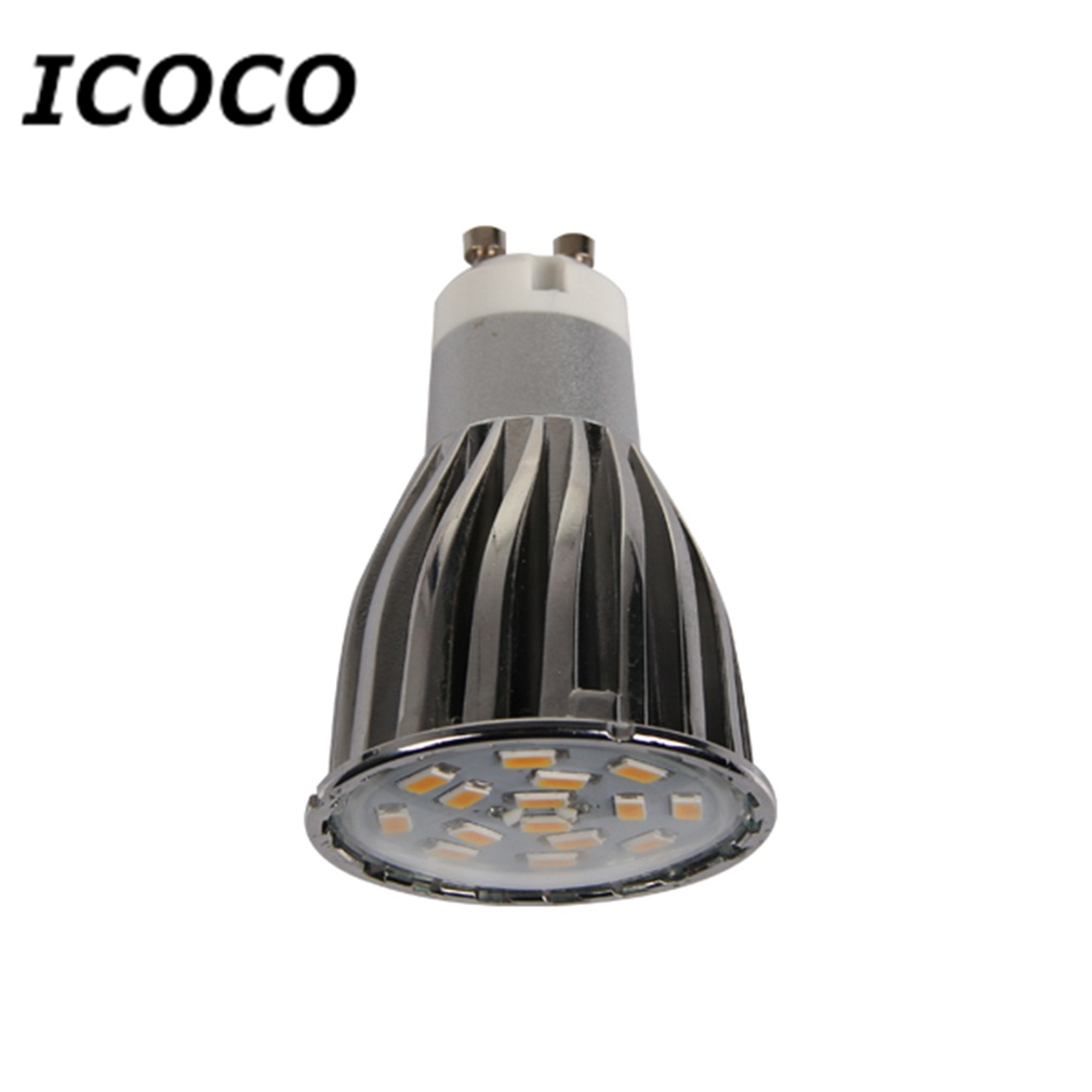 4 x GU10 15 SMD5630 6W LED Spot Light Bulbs Warm White/Day White Aluminum Shell Super Deal! Inventory Clearance image