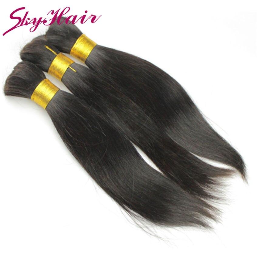 peruvian virgin hair straight 1pcs lot 100g human hair for braiding bulk no attachment top 6a bulk virgin hair for braiding soft